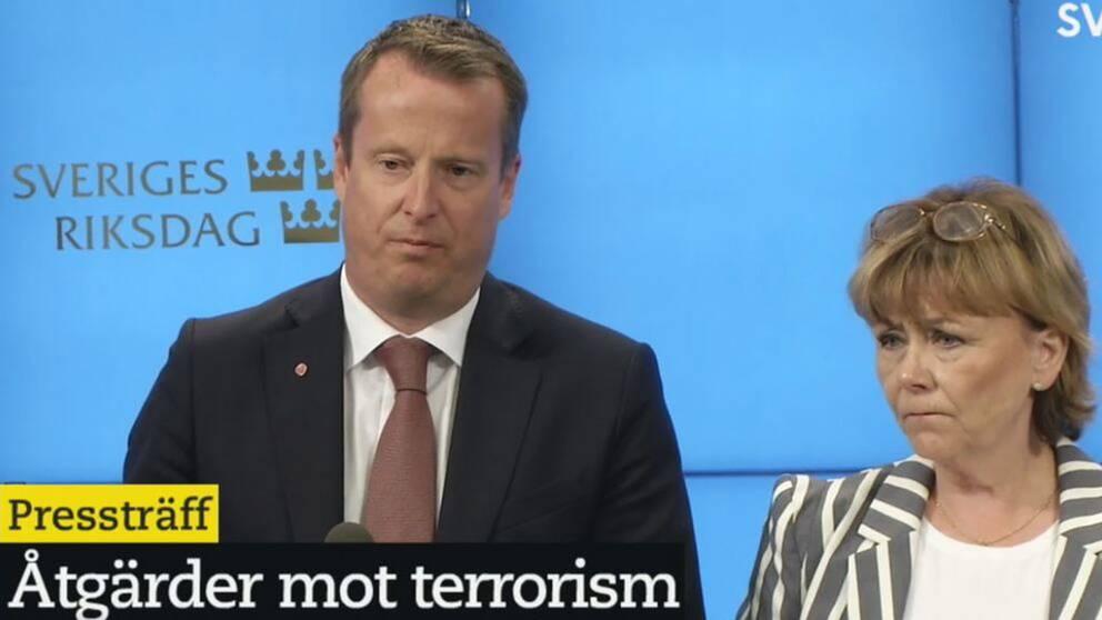 Regeringen och Alliansen överens om nya åtgärder mot terrorism