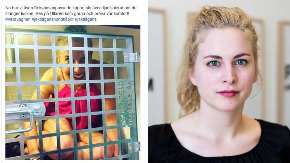 Clara Berglund. Generalsekreterare, Sveriges Kvinnolobby.