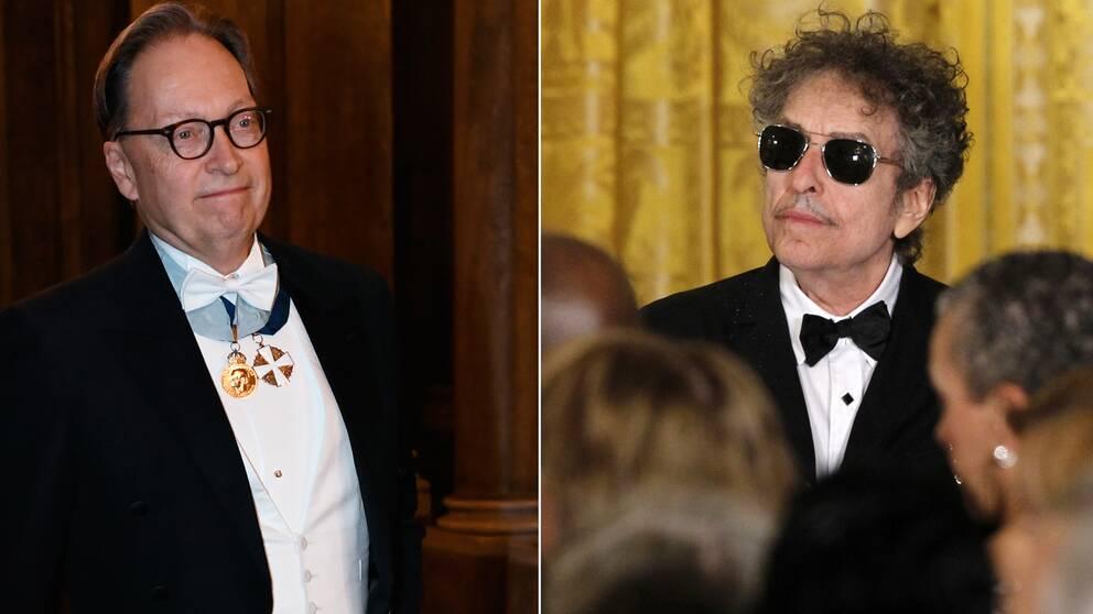 Horace Engdahl och Bob Dylan.