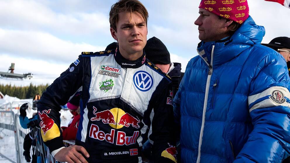 Andreas Mikkelsen gör comeback i rally-VM i Italien.