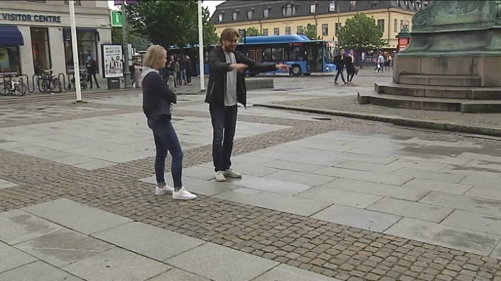 Ruben Östlund på kungsportsplatsen, Göteborg
