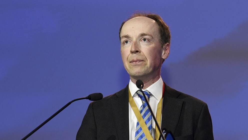 Jussi Halla-aho, ny ordförande för Sannfinländarna.