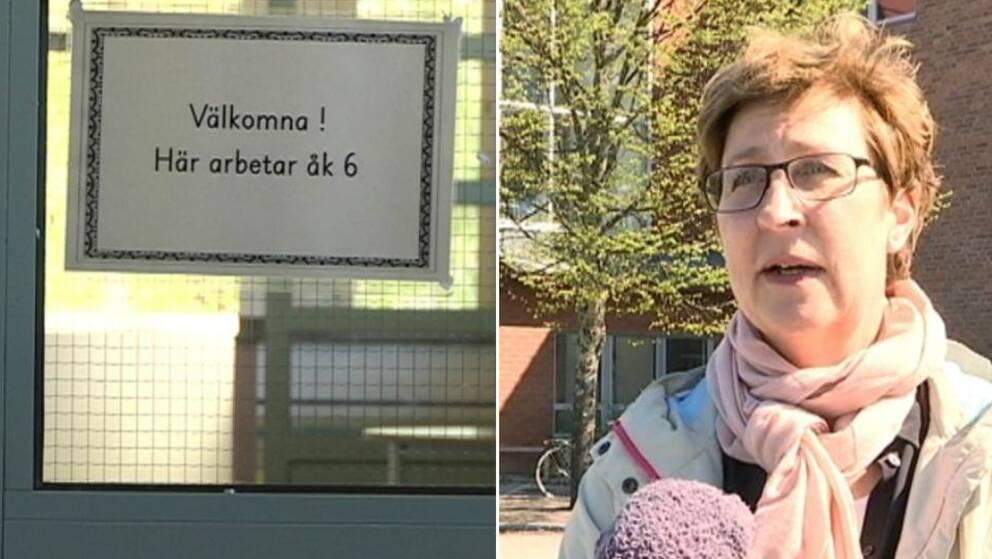 Karin Thysell, rektor på Hörnefors centralskola