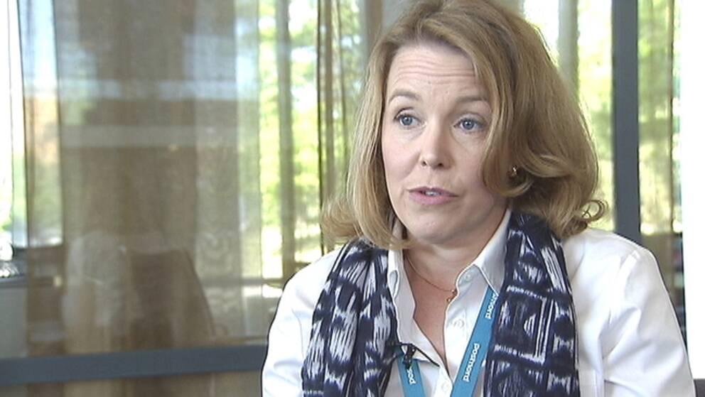 Postnords distributionschef Erika Ahlqvist