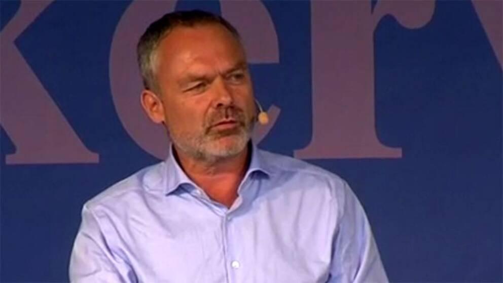 L-ledaren Jan Björklund talar på politikerveckan i Järva