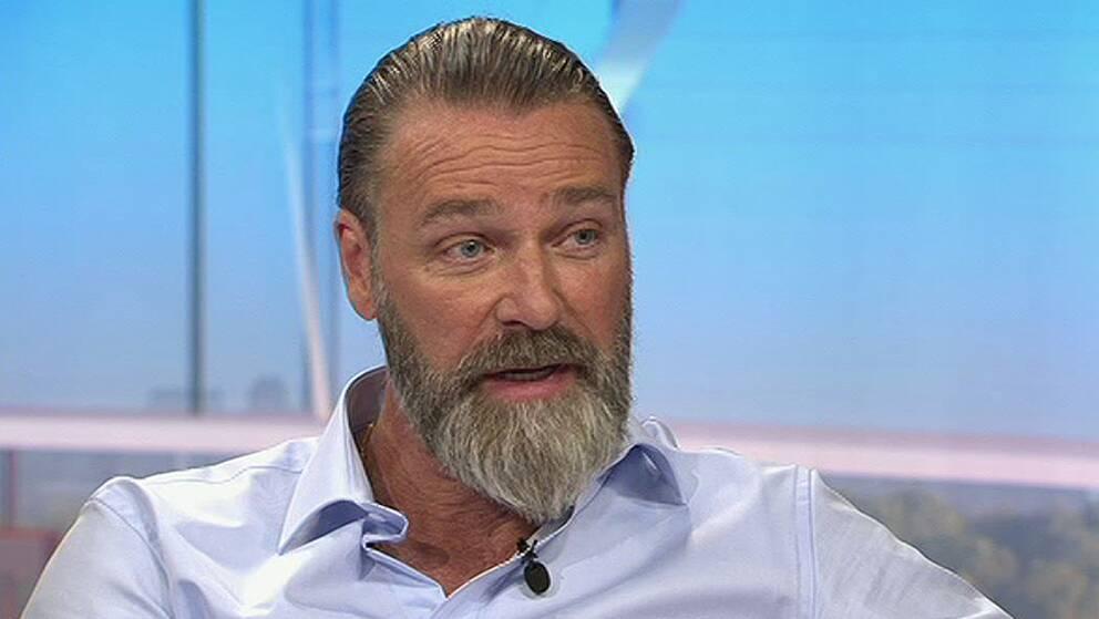 Patrik Sjöberg medverkar i SVT:s morgonsoffa tidigare i år.