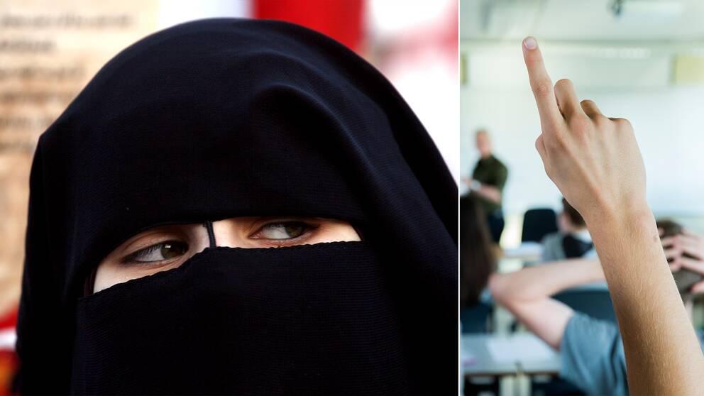 4e93bdd1b33d Norges regering: Niqab borde förbjudas i alla skolor – på alla ...