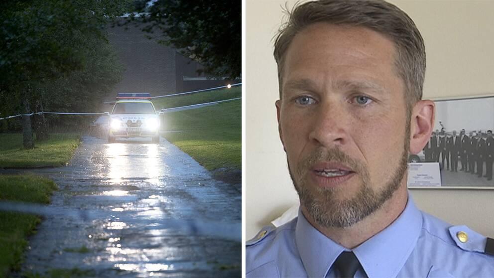 Tomas Stakeberg Jansson, lokalpolisområdeschef i Borås, hoppas på större resurser efter den nya rapporten.