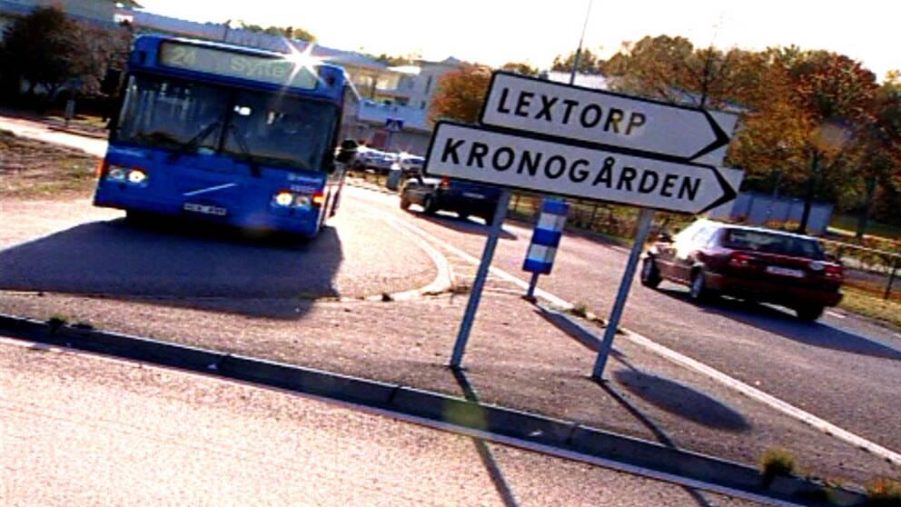 Stadsdelen Kronogården i Trollhättan.