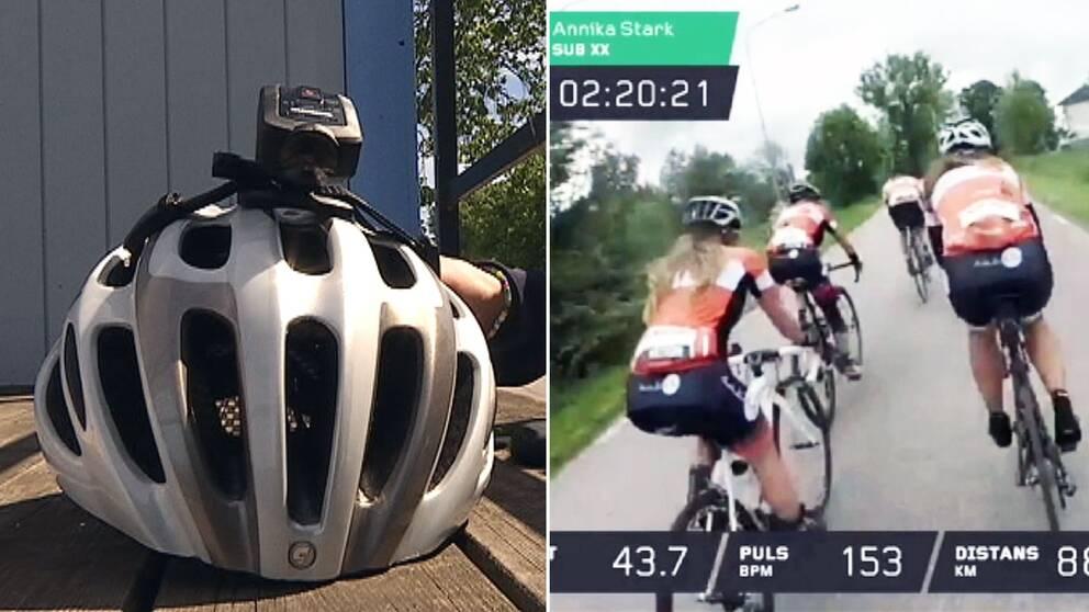 TV  Hjälmkamera följer 23.000 cyklister under Vätternrundan  cd5549fbc78be
