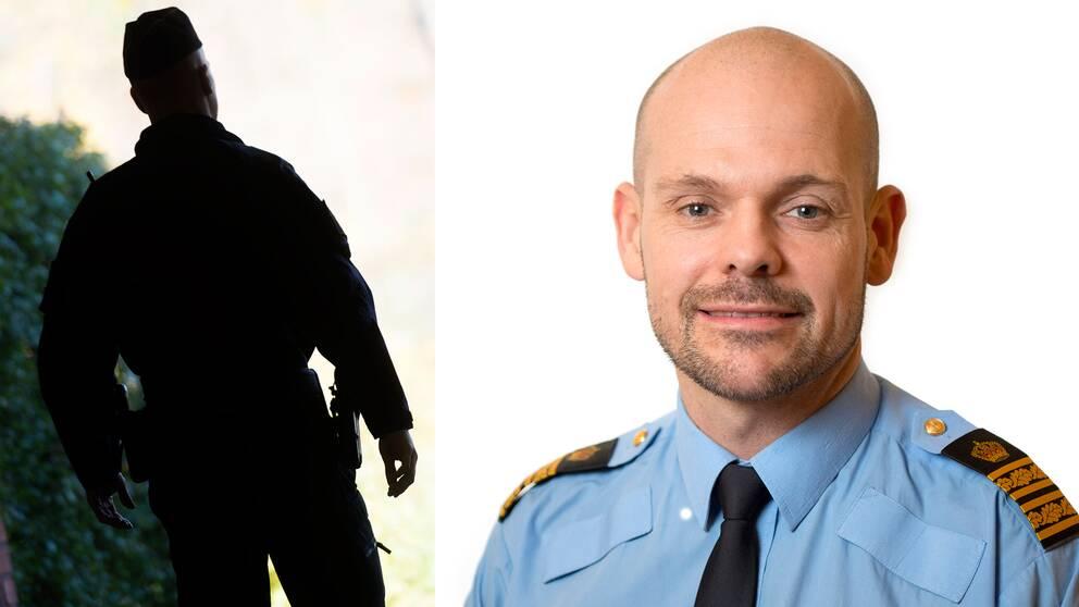 Patrick Ungsäter, chef för polisområde Nord i region Stockholm.