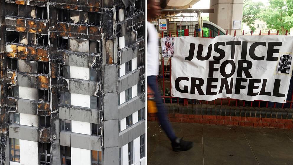 Flera demonstrationer har hållits sedan den omfattande branden, där aktivister kräver upprättelse för offren.