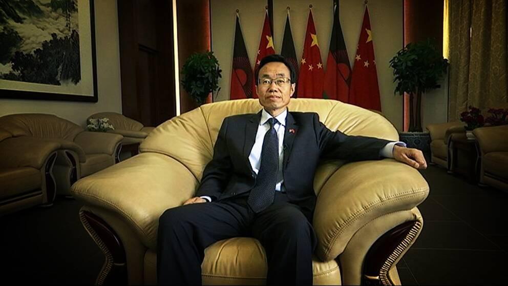 Kinas ambassadör i Malawi, Wang Shiting.