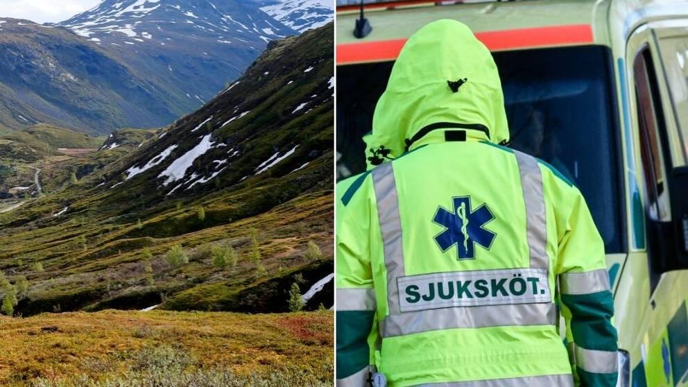 fjäll, ambulans, sjuksköterska