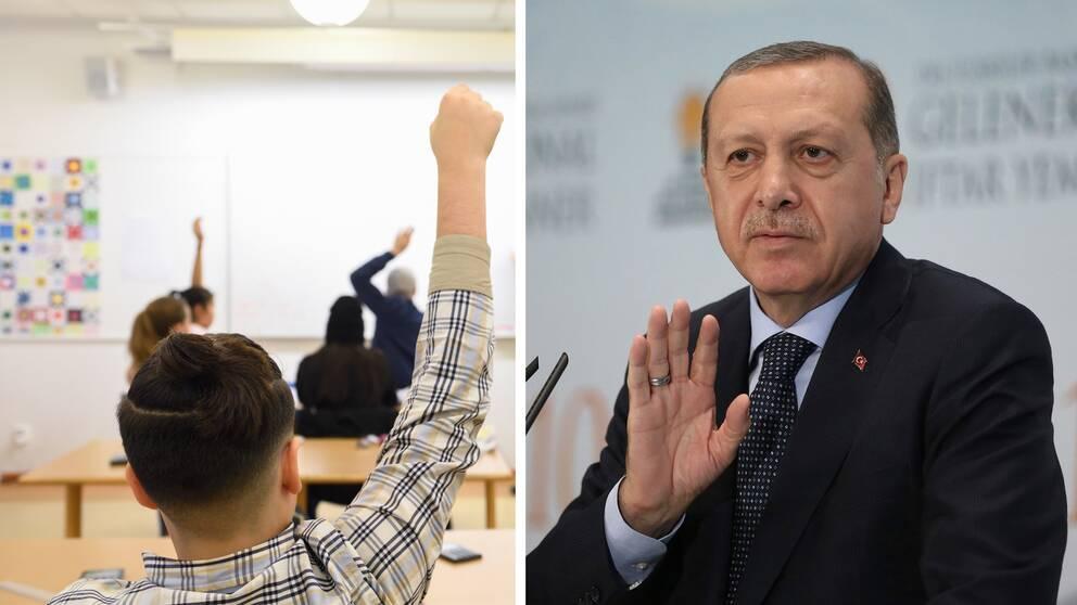 I april genomfördes en folkomröstning som med knapp majoritet tilldelade president Recep Tayyip Erdogan stort utökad makt. Han är starkt kritiserad av landets sekulära opposition.