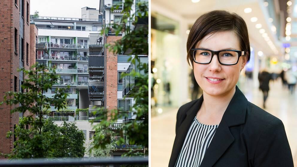 – Om du inte söker tillstånd såräknas uthyrningen som olovlig och du riskerar att förlora kontraktet, säger Line Zandén, jurist på Fastighetsägarna.