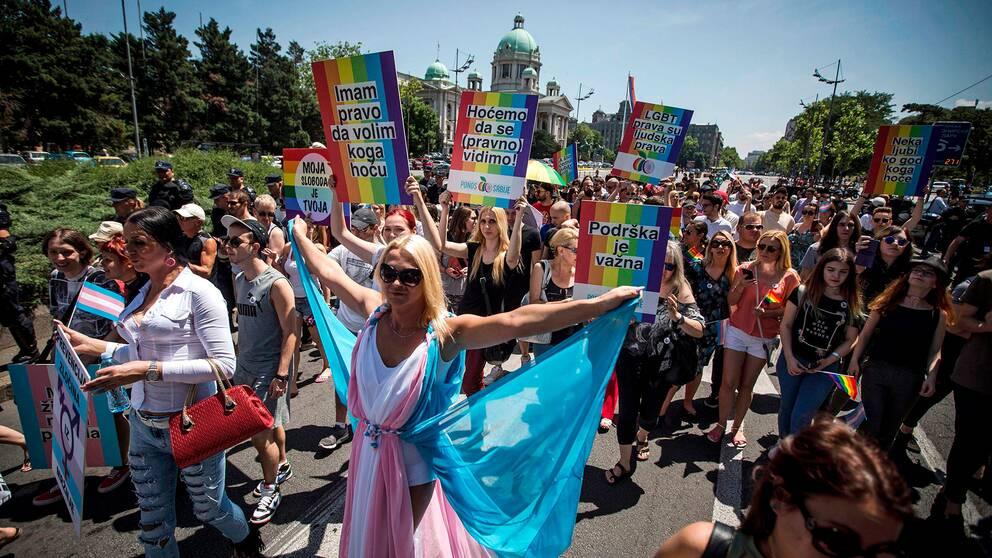 Pride i Belgrad