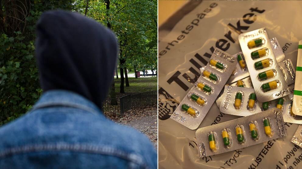 Arkivbild på droghandel samt ett tullbeslag av tramadol 2012.