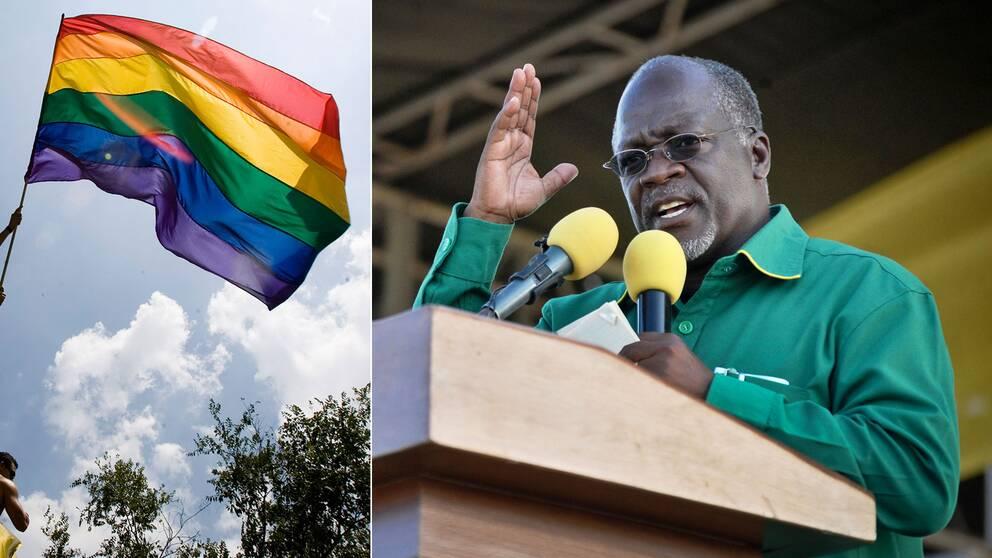 Ordern om att organisationer som arbetar för hbtq-personers rättigheter ska förbjudas i landet kommer från president John Magufuli.