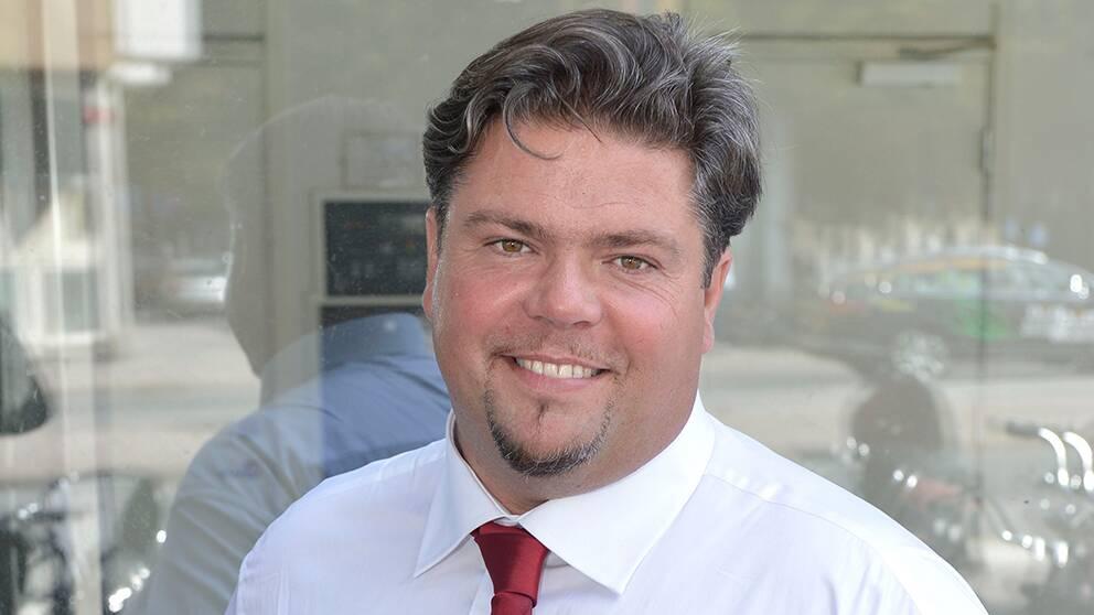 Miguel Odhner (S) i dokumentärserien Kommunpampar.