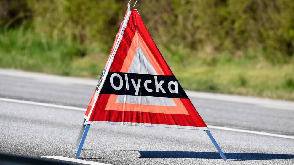 Bild på en olyckstriangel