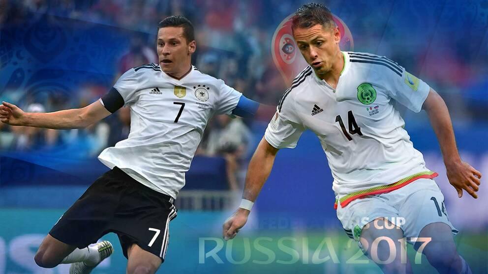 Semifinal mellan tyskland och norge