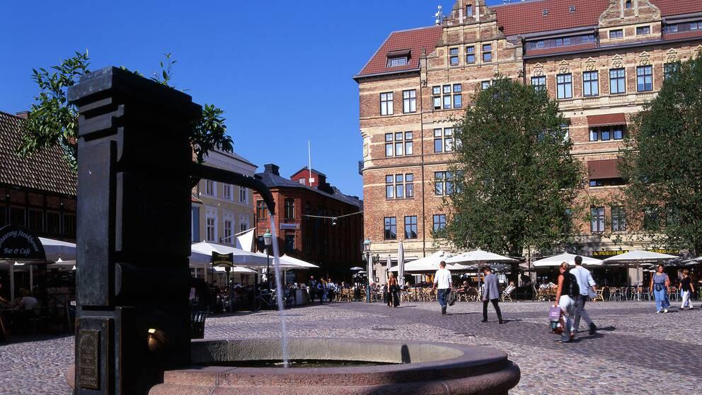 Lilla torg i Malmö.