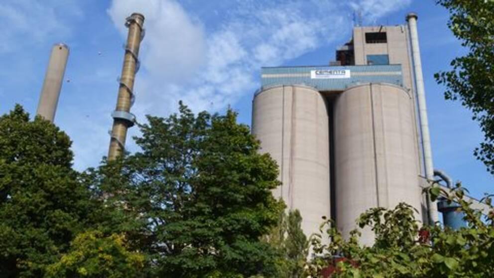 Cementa Slite Gotland