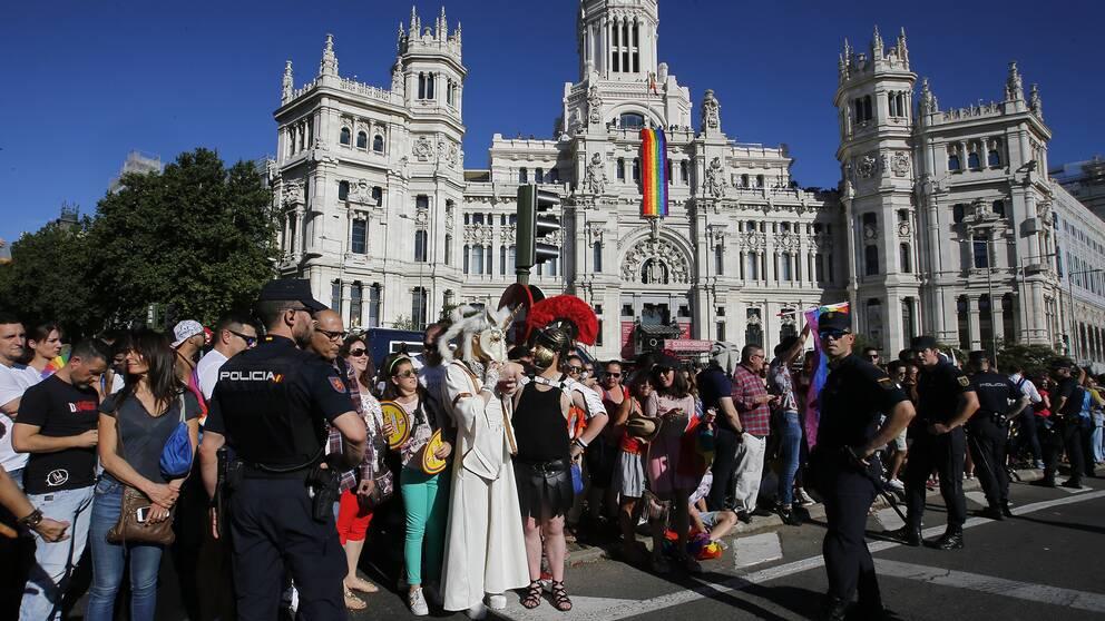 WorldPride i Madrid lockade enligt arrangörerna miljontals deltagare.