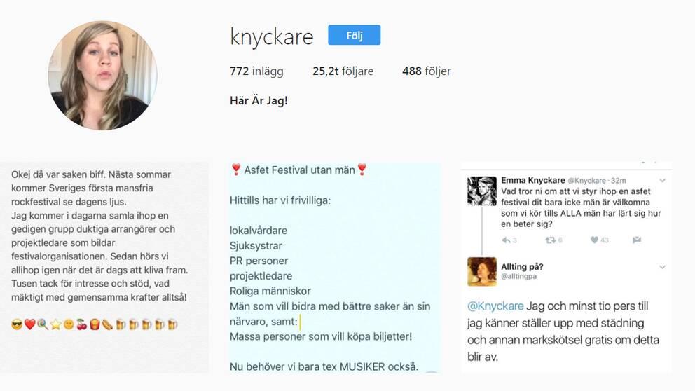 Emma Knyckares instagram