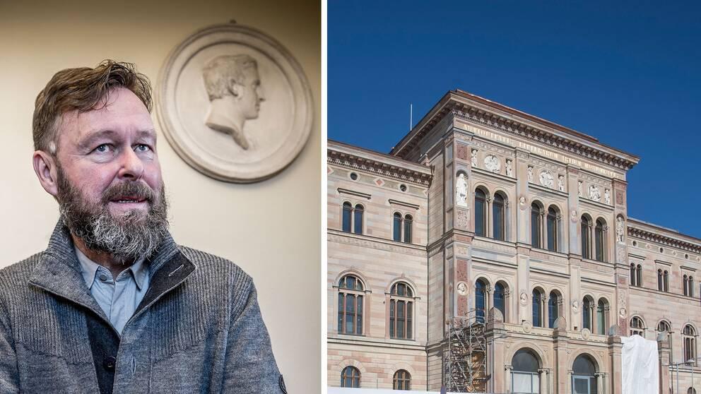 Berndt Arell och Nationalmuseum.