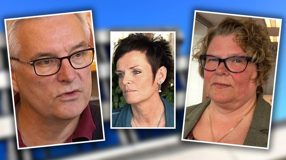 Anders L Johansson, Lena Thelin, Inger Berström