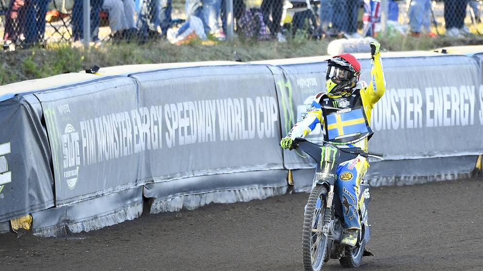 Ingen vm final for sverige i speedway