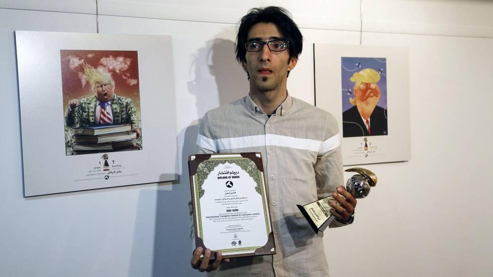 Hadi Asadi vann tävlingen