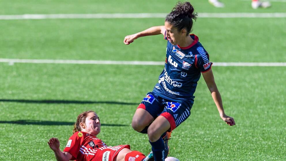 Portugal-stjärnan Claudia Neto spelar till vardags i Linköping och damallsvenskan.
