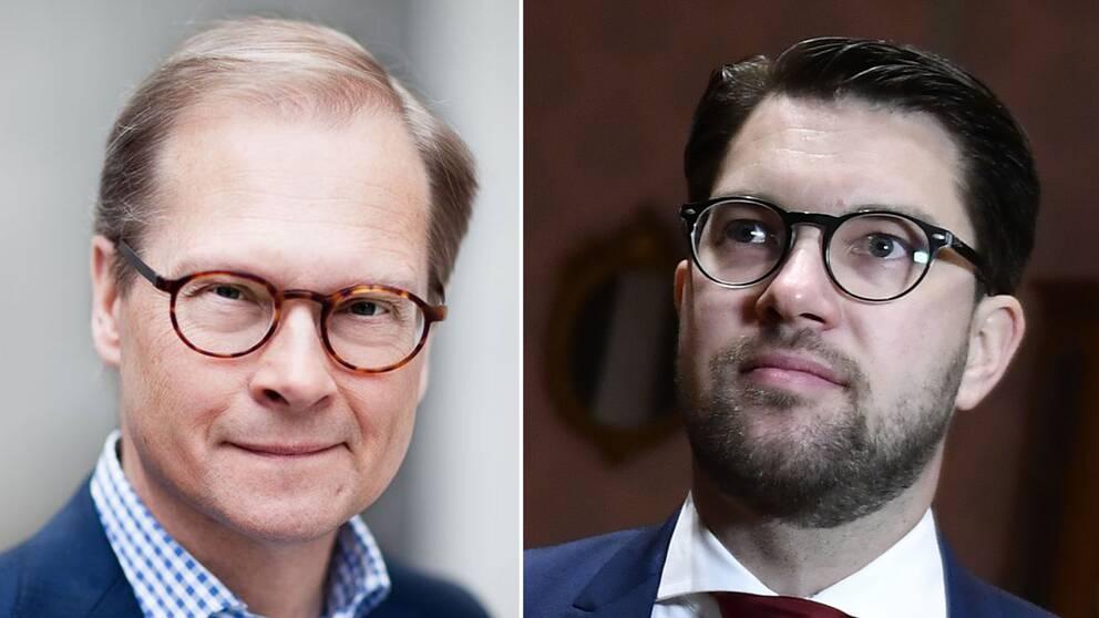 MAts Knutson och Jimmie Åkesson