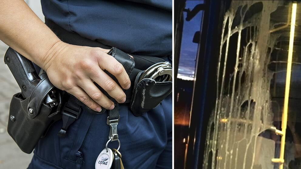Nu ska polisen ta itu med problemen på busslinje 720 i Kungsbacka.