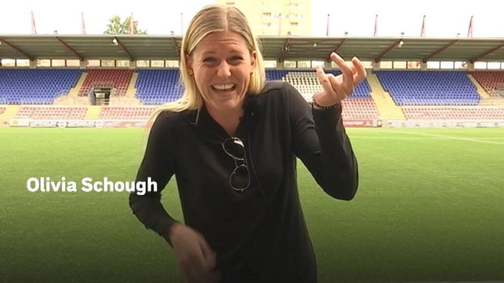 Fotbollsspelare Olivia Schough från Eskilstuna United.