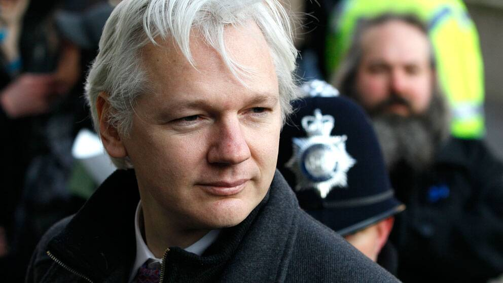 Julian Assange. Foto: Scanpix