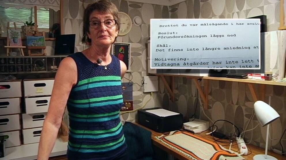 – Jag hade starka emotionella bindningar till flera av smyckena som försvann, säger Ingrid Wallin.