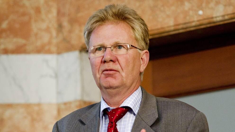 Transportstyrelsens styrelseordförande Rolf Annerberg.
