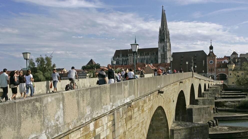 Katedralen i Regensburg.