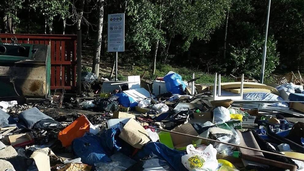 sopor geneta återvinningsstation