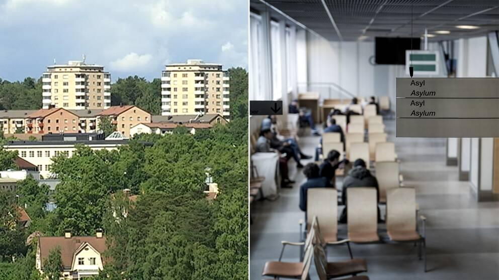 Antalet nyanlända som själva väljer att bosätta sig i Södertälje har i det närmaste halverats.