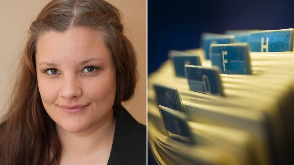 Cecilia Heikkinen, vice ordförande för Roks, Riksorganisationen för kvinnojourer och tjejjourer i Sverige.