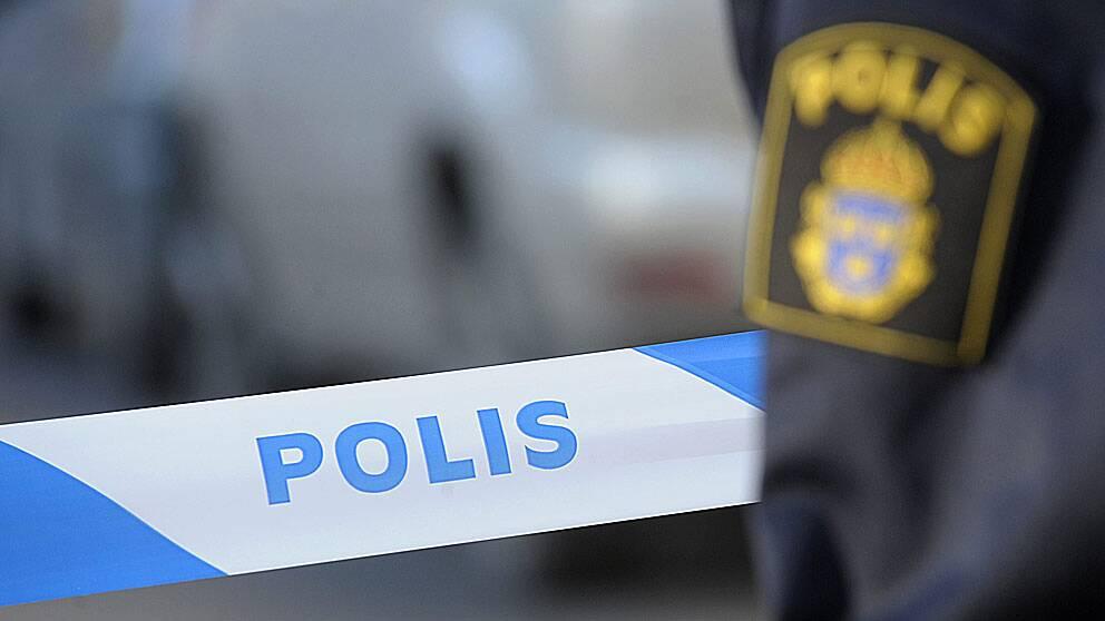 En polisanmälan om misstänkt jaktbrott har upprättats efter att en man upptäckt olovligt utplacerade viltsnaror i ett skosparti i Segmon.
