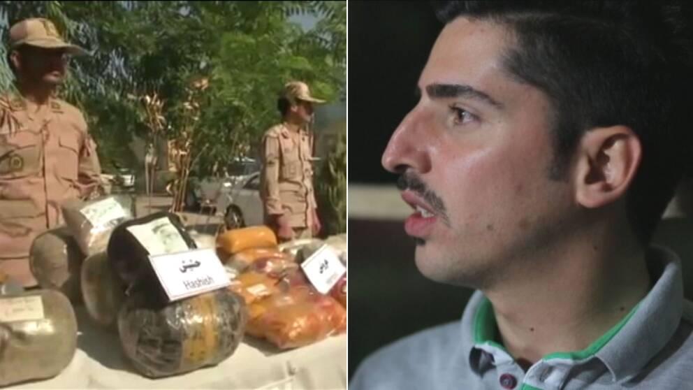 Allt fler tar droger i Iran. I landet finns inte mycket nöjen att hitta på och droger är relativt billigt enligt Mojtaba Ghotbi från Förenade föreningar för ett fritt Iran.