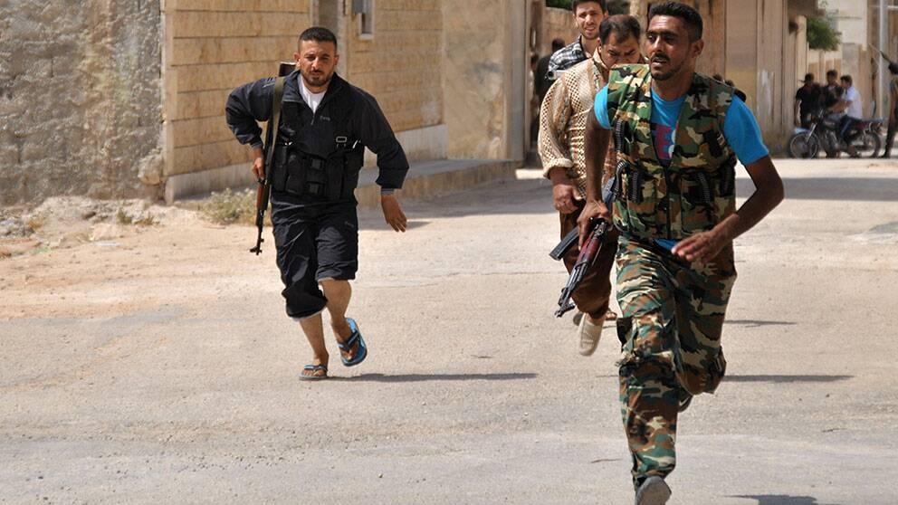 Syriska rebeller