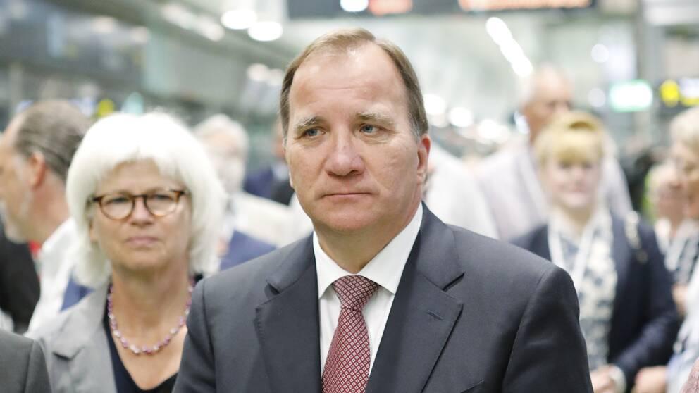 Arkivbild. Stefan Löfven.