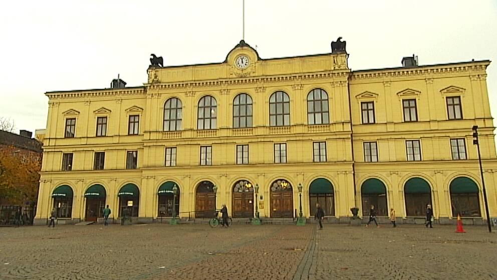 Tingsrätten i Karlstad, där förvaltningsrätten har sitt säte.